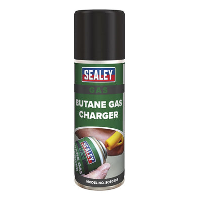 Sealey Butane Gas Refill 200ml Pack of 6