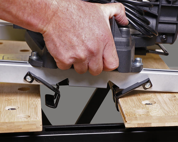 Benchclaw™ Fit to Power Tools and Easily Mount on Workbenches