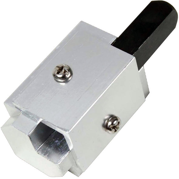 Silverline 70mm Corner Chisel Hinge Recesses Tungsten Steel Jig Rounded