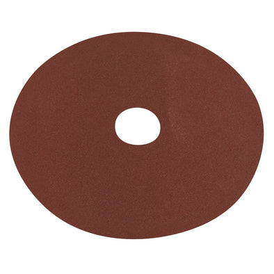 Worksafe by Sealey Fibre Backed Disc Ø125mm - 80Grit Pack of 25