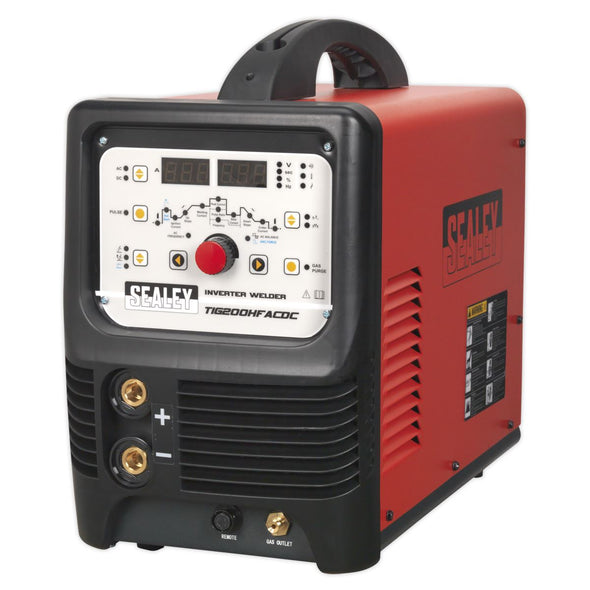 Sealey TIG/MMA HF AC/DC Inverter Welder 200A 230V