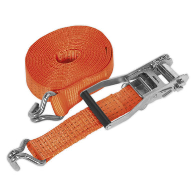 Sealey Ratchet Tie Down 50mm x 10m Polyester Webbing 5000kg Load Test