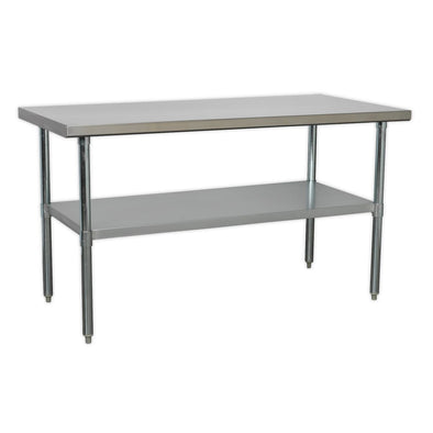 Sealey Stainless Steel Workbench 1.5m