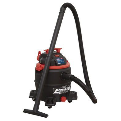 Sealey Vacuum Cleaner Wet & Dry 30L 1100W/230V