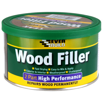 EverBuild 500g 2 Part High Performance Wood Filler