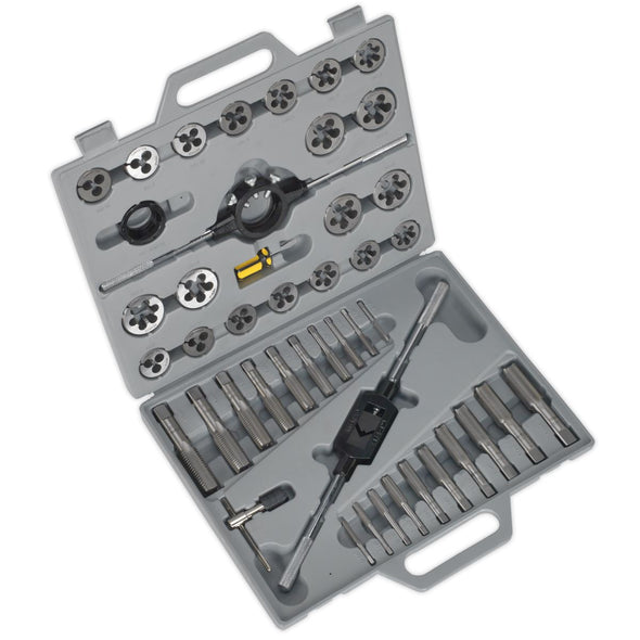 Sealey Tap & Die Set 45pc Split Dies Metric