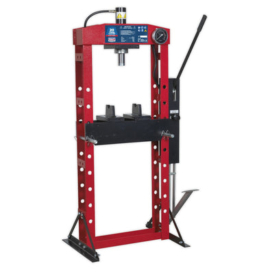Sealey Premier Hydraulic Press Premier 20tonne Floor Type with Foot Pedal