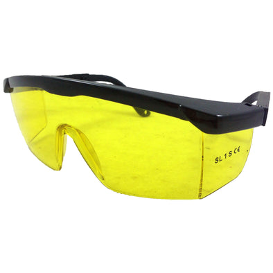 Amtech Safety Glasses Yellow Lens PPE Eye Protection