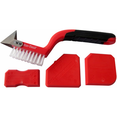 Amtech 4 Piece Decorating Caulking Tool Kit