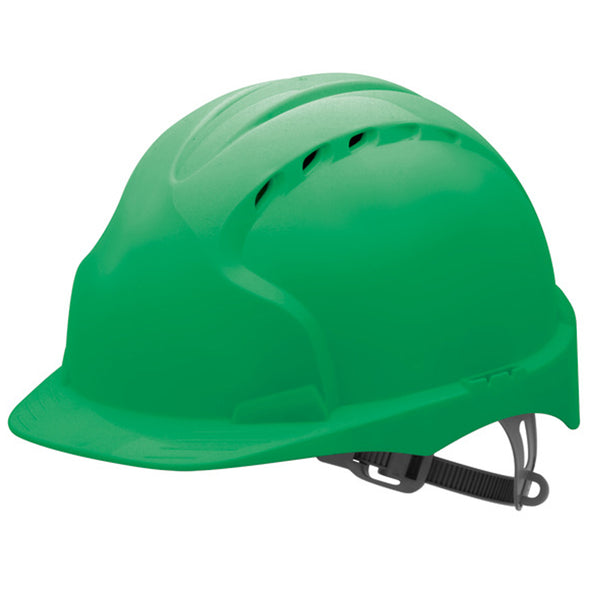 JSP Evo 2 Vented Safety Helmet with Slip Ratchet