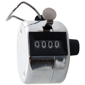 Amtech 4 Digit Hand Tally Counter Clicker