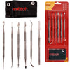 Amtech 6 Piece Stainless Steel Wax Carving Set