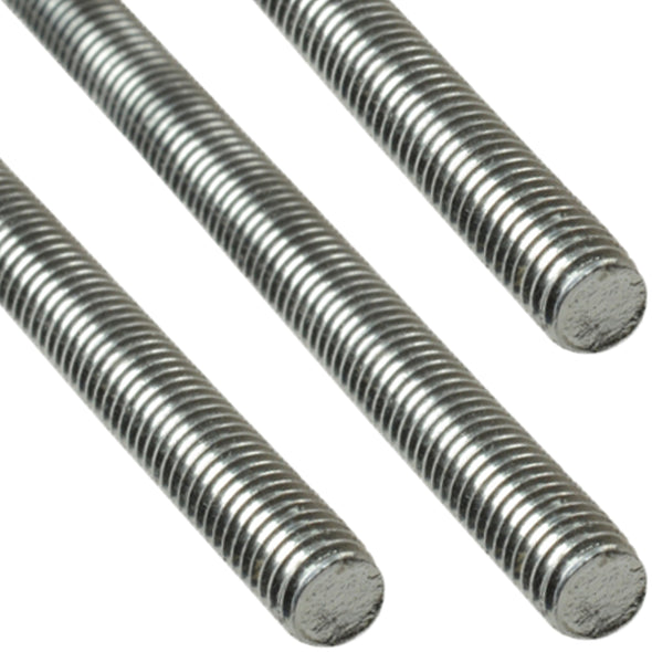 ForgeFix 1m A2 Stainless Steel Threaded Rod Bar Studding