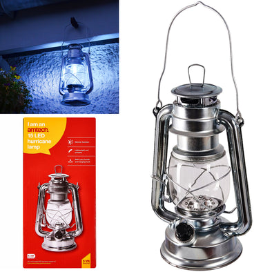 Amtech 15 LED Hurricane Lamp Super Bright Torch