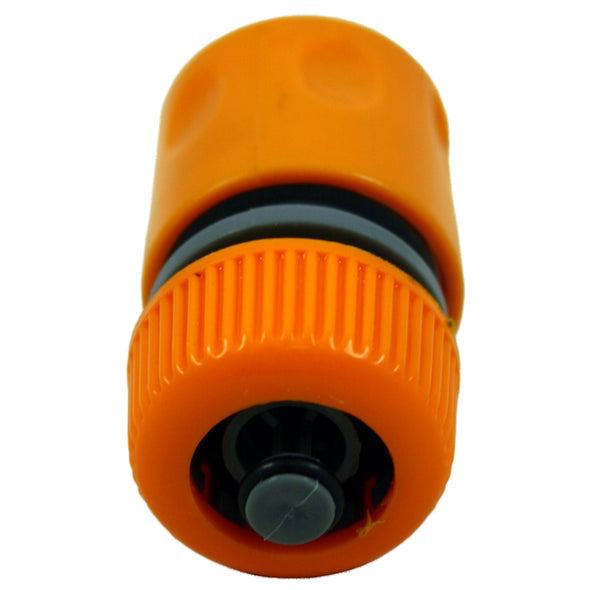 "Amtech 1/2"" Hose Connector with Shut Off"