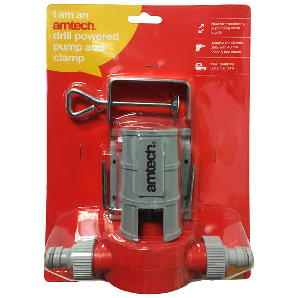 Amtech Drill Powered Water Pump