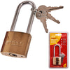 Amtech 38mm Long Shackle Padlock