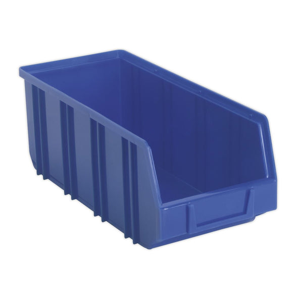 Sealey Plastic Storage Bin Deep 145 x 335 x 125mm Blue Pack of 16