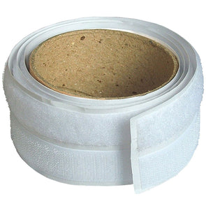 Faithfull 20mm x 1m Hook & Loop Self Adhesive Tape