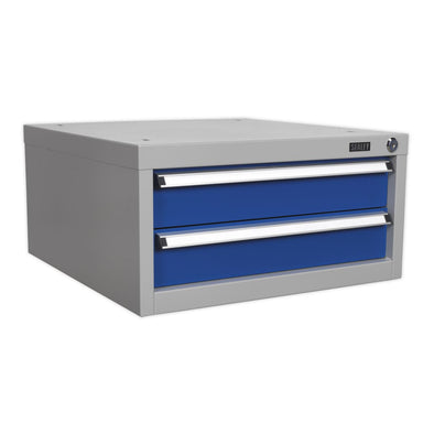 Sealey Premier Industrial Double Drawer Unit for API Series Workbenches