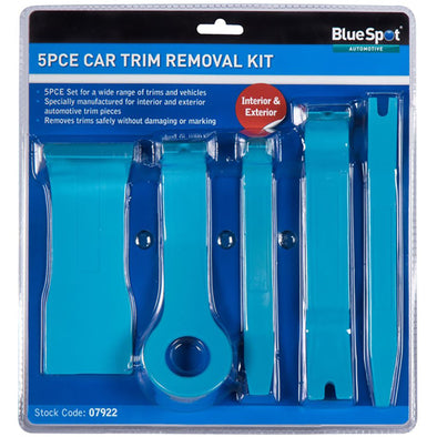 BlueSpot 5 Piece Car Trim Removal Set