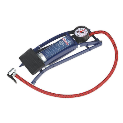 Sealey Foot Pump Single Barrel
