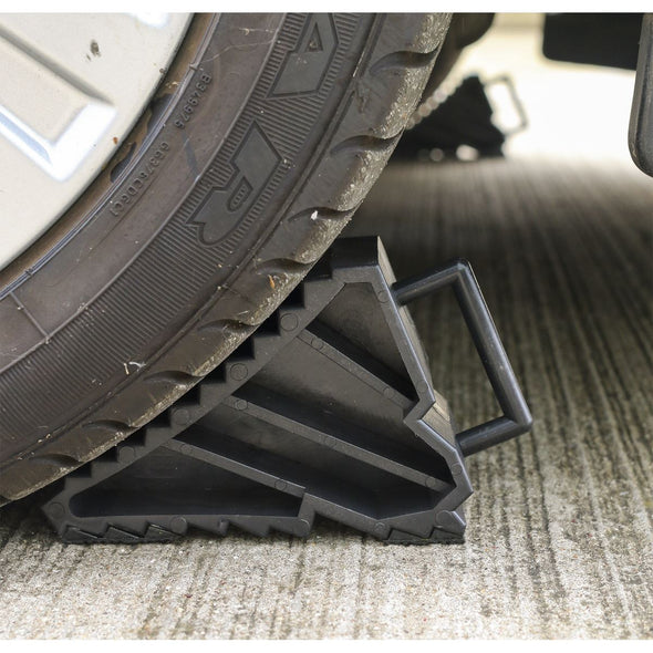Sealey Composite Wheel Chocks 0.3kg - Pair