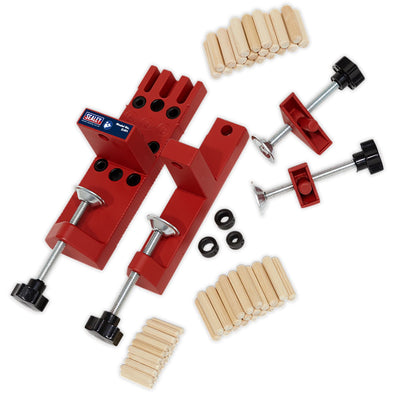Sealey Universal Wood Dowelling Jig Set