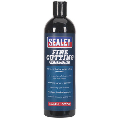 Sealey Cutting Compound Fine 500ml Polishing