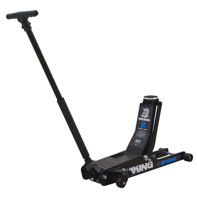 Sealey Viking 2 Tonne Low Entry Long Reach Trolley Jack with Rocket Lift