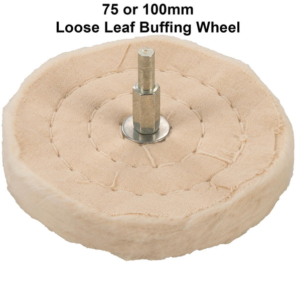 Silverline Loose Leaf Buffing Wheels