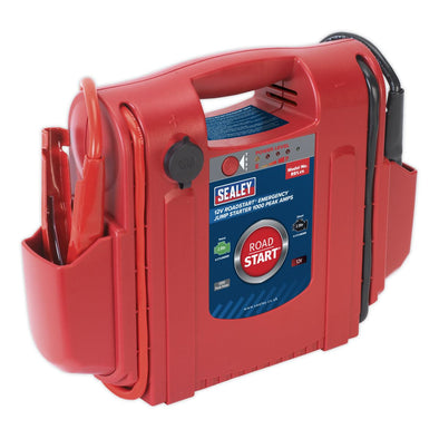 Sealey RoadStart® Emergency Jump Starter 12V 1000 Peak Amps