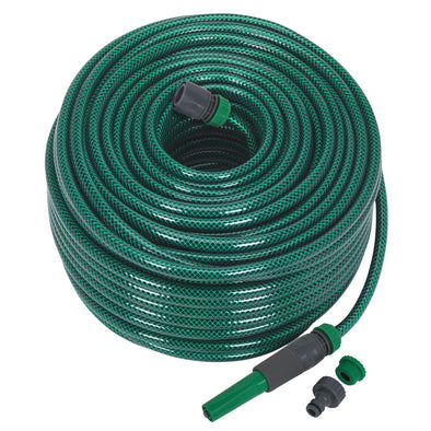 Sealey Water Hose 80m with Fittings