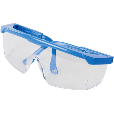 Silverline Clear Safety Glasses Goggles Eye Protection Eyewear Wraparound