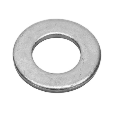 Sealey Flat Washer M14 x 28mm Form A Zinc Pack of 50