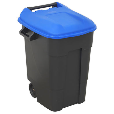 Sealey Refuse/Wheelie Bin 100L - Blue