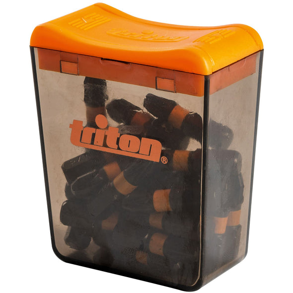 Triton 25 Piece Impact Bit Sets 25mm Pozi, Phillips, Slotted, Torx Or Square