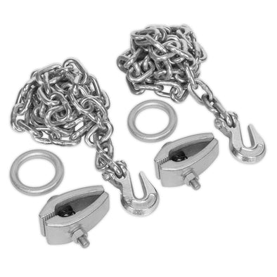 Sealey Chain Kit 2 x 2m Chains 2 x Clamps