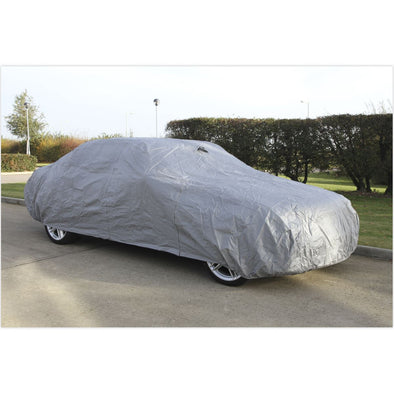 Sealey Car Cover Large 4300 x 1690 x 1220mm