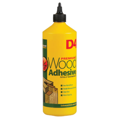 EverBuild 1 Litre D4 Premium Wood Adhesive Totally Waterproof
