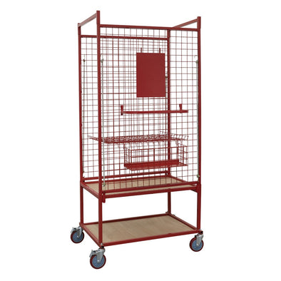 Sealey Professional Car Parts Trolley