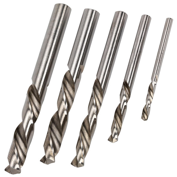 Sealey 5 Piece Left Hand Spiral Drill Bit Set Screw Stud Extraction Remover Removal