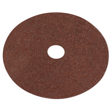 Worksafe by Sealey Fibre Backed Disc Ø115mm - 24Grit Pack of 25