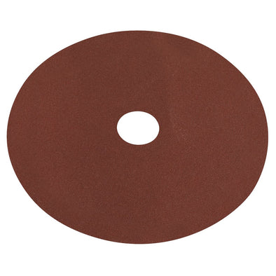 Worksafe by Sealey Fibre Backed Disc Ø100mm - 80Grit Pack of 25