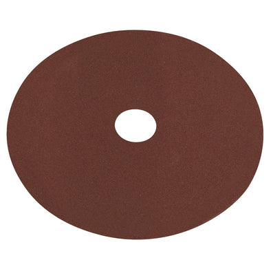 Worksafe by Sealey Fibre Backed Disc Ø100mm - 120Grit Pack of 25