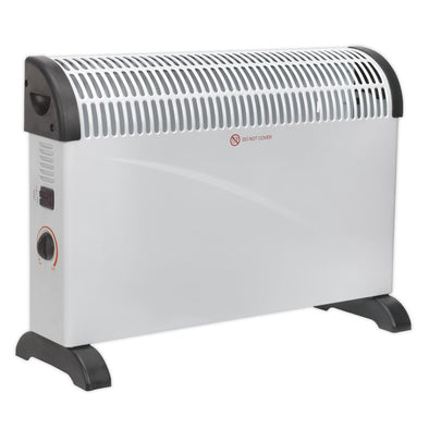 Sealey Convector Heater 2000W/230V 3 Heat Settings Thermostat