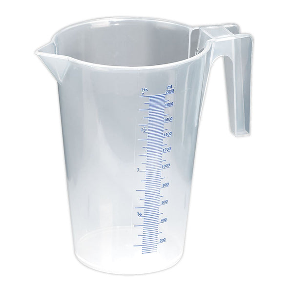 Sealey Measuring Jug Translucent 2L