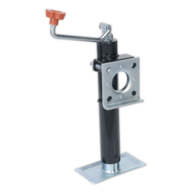 Sealey Trailer Jack with Weld-On Swivel Mount 250mm Travel - 900kg Capacity