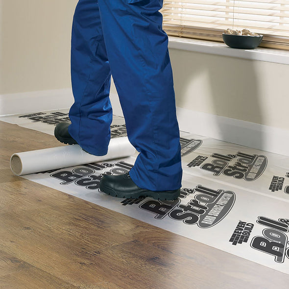 EverBuild Roll and Stroll Hard Surface Floor Protector 600mm x 75m