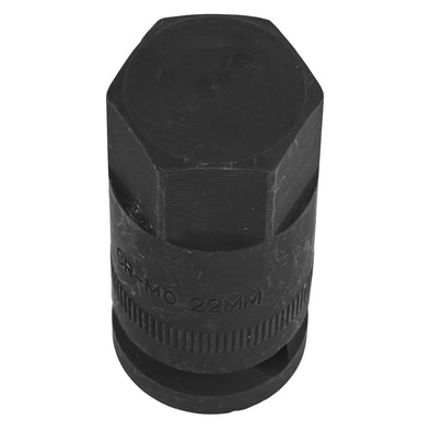 "Sealey Motorcycle Wheel Nut Socket 1/2""Sq Drive H22"